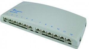 ( J02022A0053 ) Panel krosowy 12-portowy kat.6A desktop - ekranowany
