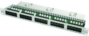 """( J02024C0002 ) Panel krosowy 19"""" 50-portowy ISDN kat.3 - nieekranowany"""