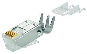 ( J00026A0165 ) Wtyk RJ-45 kat. 6A ekran MP8(8) d/l