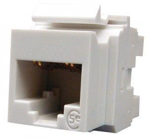 ( KSJ-00032-02 ) Gniazdo RJ-45 UTP PowerCat kat.5e - białe