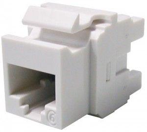 ( KSJ-00033-02 ) Gniazdo RJ-45 UTP PowerCat kat.6 - białe