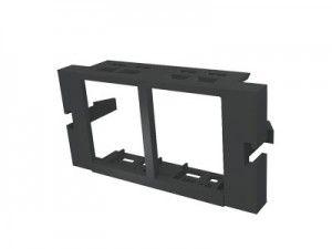 ( MUS-00058-04 ) Adapter podwójny Molex Data Gate/Euromod - czarny