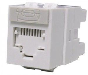 ( KSJ-00024-02 ) Gniazdo RJ-45 UTP kat.5e DataGate+ PowerCat - białe